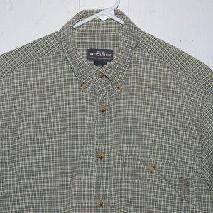 Woolrich short sleeve mens shirt size M J1037
